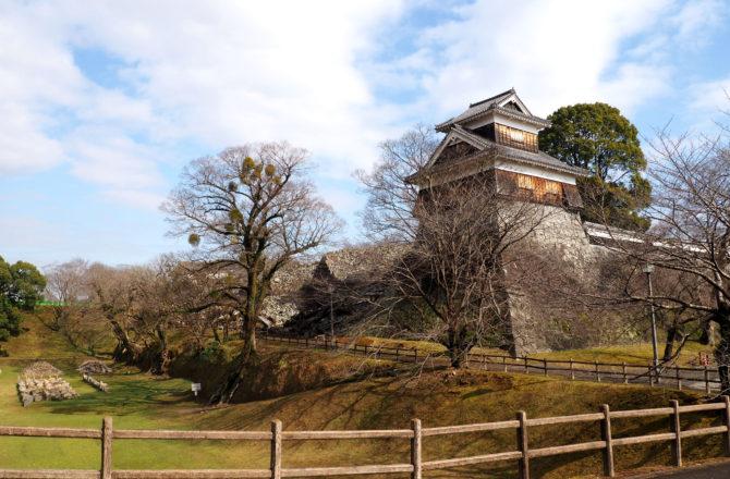 Direction l'ouest et premiers pas à Kumamoto sur l'île de Kyushu