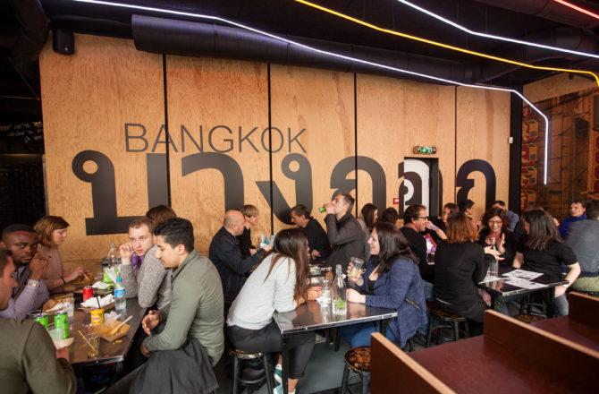 Street Bangkok, un concept élaboré en Thaïlande cuisiné avec passion à Paris.