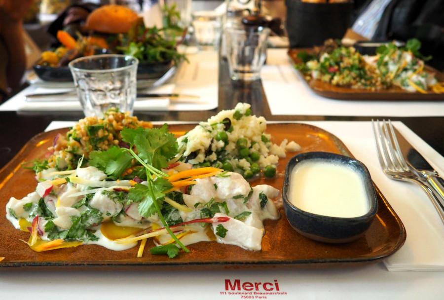 Du bon, du frais, du kif, retour sur un déjeuner chez MERCI concept store au top…