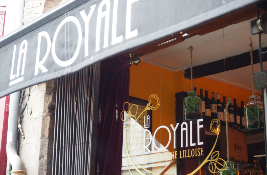 La Royale, une adresse royale où il fait bon s'attabler.