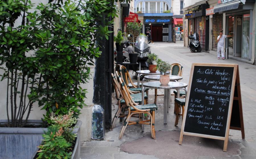Café Rendez-vous, le menu du marché à des prix bon marché