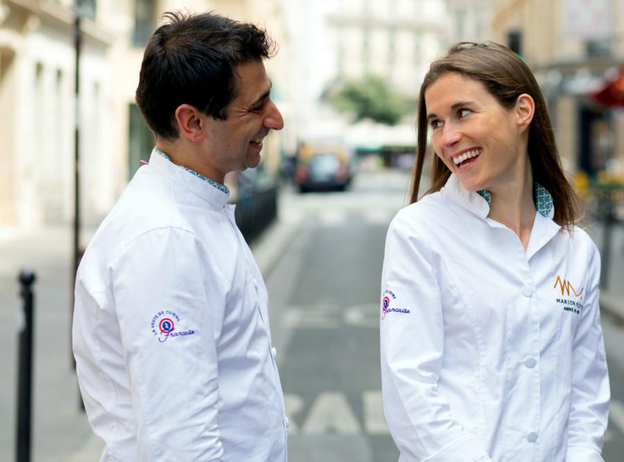 Je vous présente… La Veste de Cuisine Française