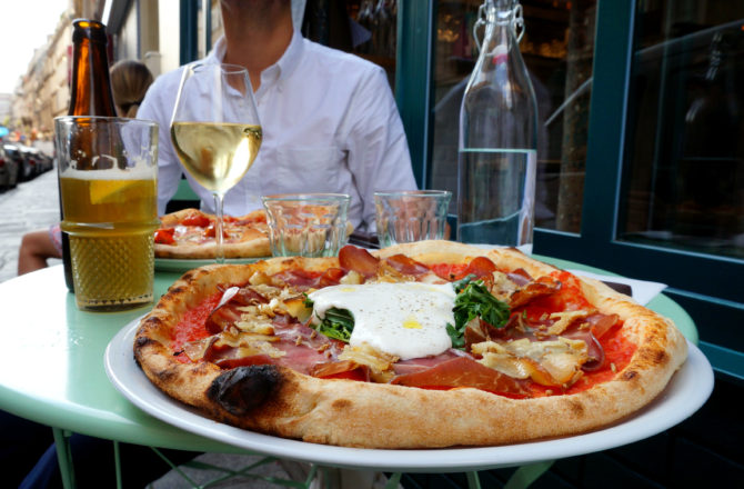 Pizzou, la pizza au drapeau tricolore !