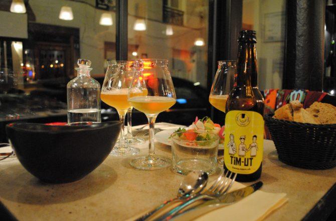 La Fine Mousse Restaurant, la fine expérience de la bière dégustée en verre à pied