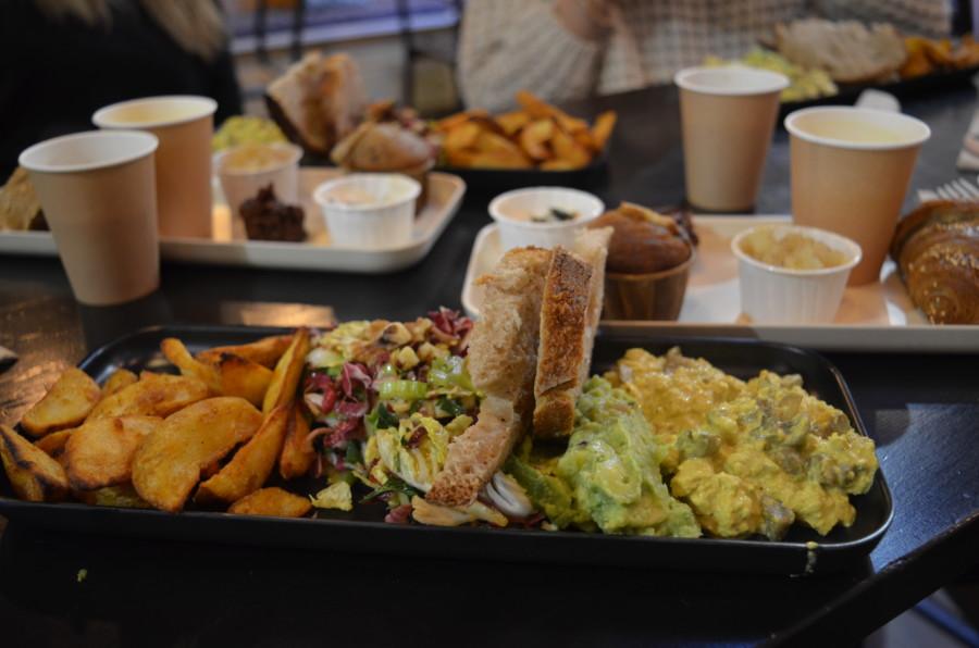 HANK restaurant, THE fast food 100% Vegan sort son brunch rue Rochechouart