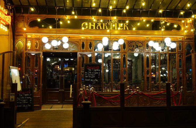 Bouillon Chartier Montparnasse, un bistrot centenaire qui est resté dans son jus !