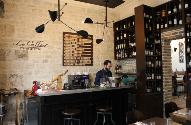 Le Cellier, un chef étoilé dans un esprit cave à vins