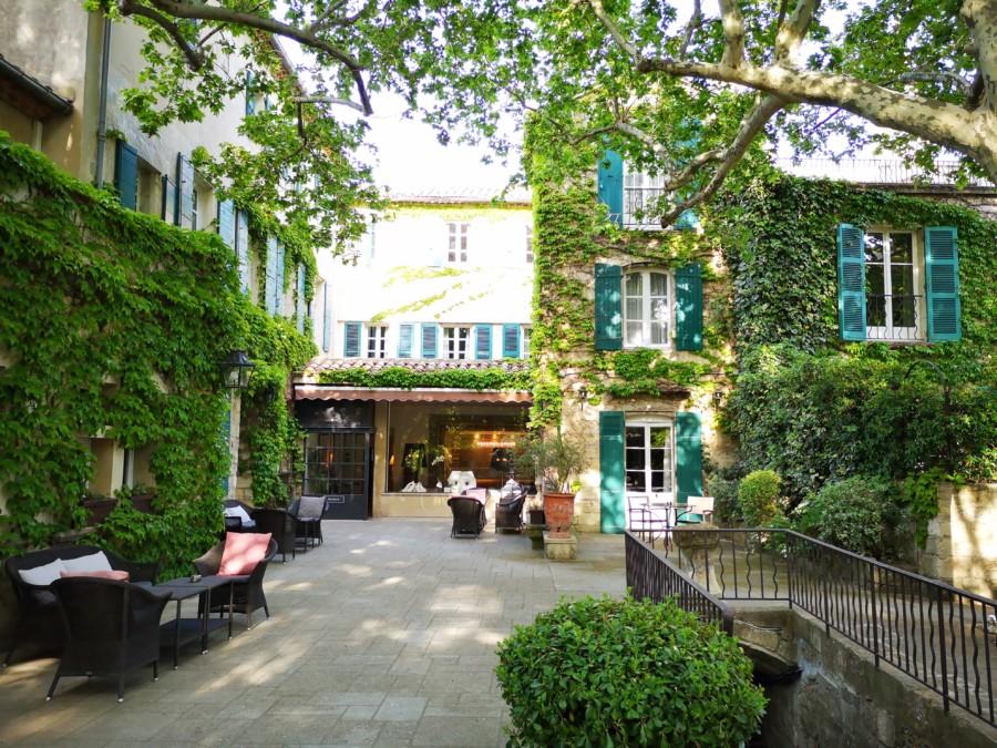 Le Prieuré à Villeneuve-lès-Avignon, un autre site signé Baumanière