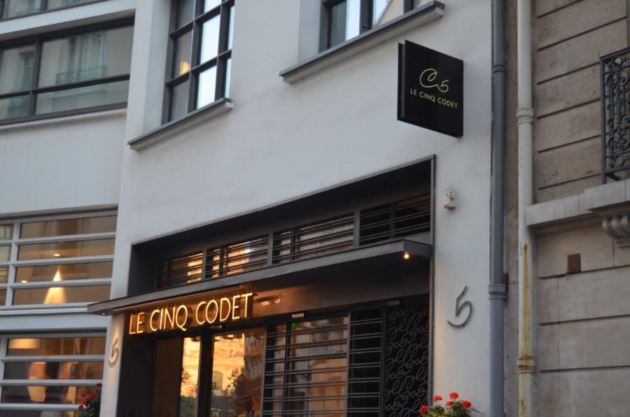 Chiquette, le restaurant niché de l'hôtel « le Cinq Codet »
