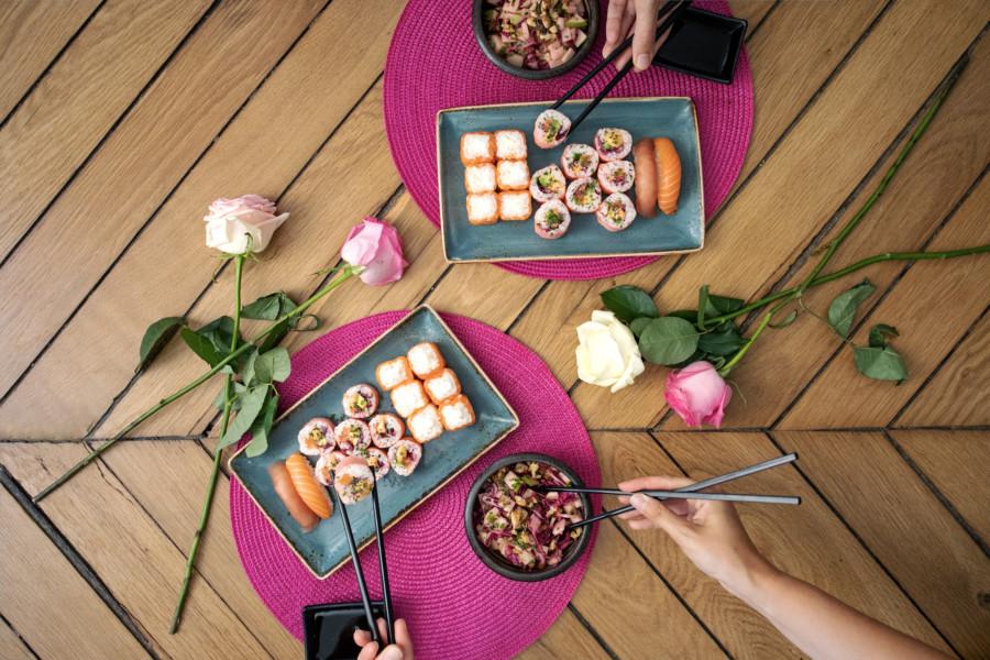 Octobre Rose avec Côté Sushi !
